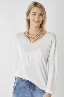 """Love"" Sweater"