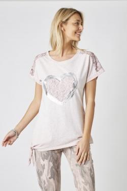 Heart w/ Tie T-Shirt