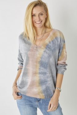 Multi-Colored Shimmer Sweater