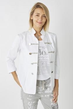 Military Style Jacket Cotton