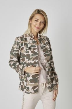 Camo Print Jacket